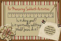 Man.1 Less.25-Sabbath Day