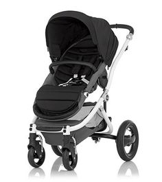 Affinity Stroller by Britax - White base frame with Black color pack - Britax USA