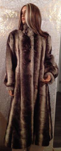 Pamela McCoy Long Faux Fur Coat Large Beautiful Coat Fully Lined | eBay
