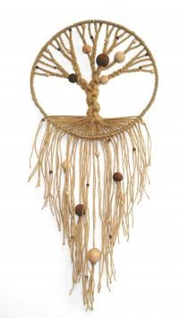 I NEED to learn how to make these! Macrame Tree of Life (Hemp Tree of Life)
