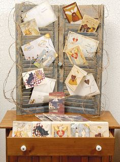 Display for Greeting Cards