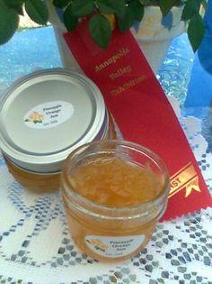Award Winning Pineapple Preserves