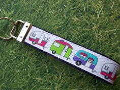RV Camping Wrist Key Keeper with Cute Travel Trailers. $5.50, via Etsy.