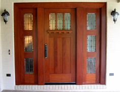 Doors by Decora - Arts and Crafts Entryway