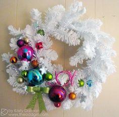 wreath by Kristy Dolman