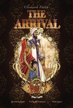 The Arrival #book #cover #illustration #transmedia #eratransmidia