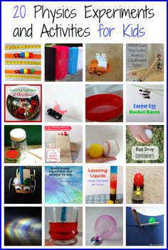 20 Physics Experiments and Activities for Kids