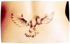 Fantastic bird tattoo