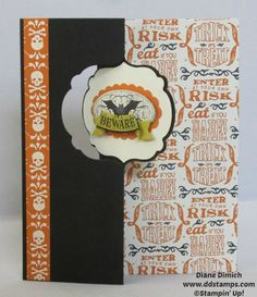 Stampin' Up's New Thinlits Halloween Card