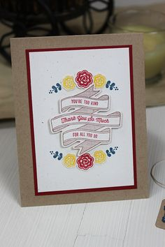 Dawn Woleslagle for Wplus9 featuring Spring Tags, Very Vintage Florals and Written on Ribbon stamps, Written On Ribbon and Very Vintage Floral dies.