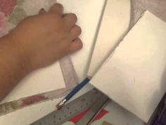 DIY stamp cleaning pads - YouTube