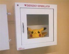 emergency defibrillator
