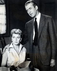Doris Day with James Stewart in Alfred Hitchcock's 1956 film The Man Who Knew Too Much xx