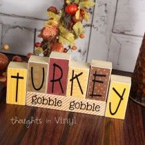 Mini Seasonal Blocks {Turkey}