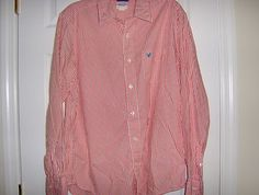 American Eagle Outfitters Men's Button Long Sleeve Shirt Size L/G