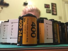 Awesome way to use #film canisters. #DIY #Wedding Invites