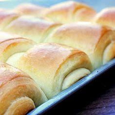Lion house rolls   Remember to have powdered milk on hand though.