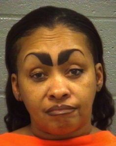 12 Sets of Bad Eyebrows You Have to See to Believe. OH NO. -- omg sooooo funny!! What's wrong with your own eyebrows? I don't get the whole plucking them all but gone and then drawing them back on. Weird!
