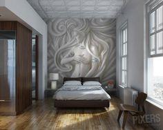 Wall Mural Goddess