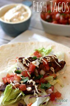 Fish Tacos, Easy Fish Tacos, Mexican Recipes, Mexican Fish Tacos