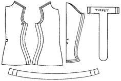 Men's cotehardie pattern