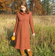 Check out the deal on Red Oak Dress- Hemp and Organic Cotton Fleece at Eco First Art