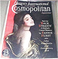 $69 Vintage Art Deco Era COMPLETE COSMOPOLITAN MAGAZINE FOR SEPTEMBER 1930. COVER ILLUSTRATION BY HARRISON FISHER. GOOD COND.