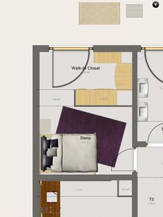 How to Build a Walk-In Closet in Your Rental Appartment   #nocloset #rentalapt