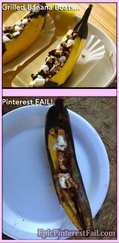 chocolate chips, sweet, food, bananas, banana boat, boats, grill banana, recip, dessert