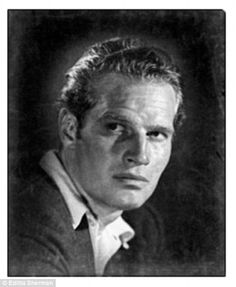 Charlton Heston by famed celebrity photographer Editta Sherman who celebrated her 100th birthday this week.