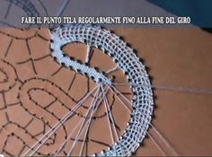 Vídeos explicativos de encaje de bolillos.