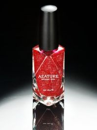Azature  -  Black Diamond Nail Polish - Red