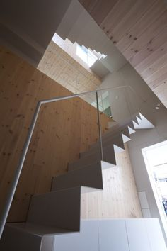 Climber´s House / Komada Architects' Office  #interiors #interior #stair #escalier #archi #architecture #home #interiordesign