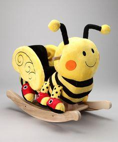 Buzzy the Bee Rocker #zulily #zulilyfinds