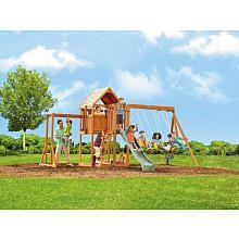 "Lancaster Wood Gym Set - Big Backyard - Toys ""R"" Us"