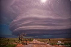 Supercell mothership  over Leedey, OK. 4/22/2013... photo by Roger Hill