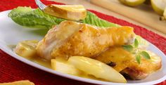 Pollo en salsa de pera #CuidarseEsDisfrutar