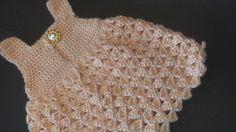 Crochet Geek - Free Instructions and Patterns: Crochet Baby Dress Abigail