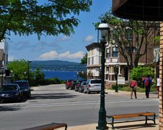 This small, seaside town in Michigan charms travelers with its food and historical setting: http://www.thedailymeal.com/visiting-petoskey-michigan-gem