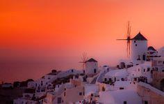 greec sunset, dream, beauti sunset
