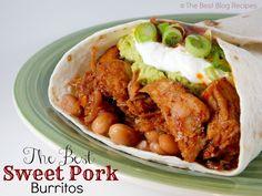 The Best Sweet Pork Burrito