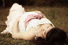 I love her maternity photos. So gorgeous!