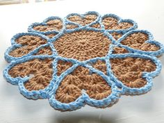 Hearts within. . ☀CQ #crochet #hearts #valentines #love  http://www.pinterest.com/CoronaQueen/crochet-hearts/
