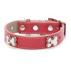 Red Dog Bling Collar