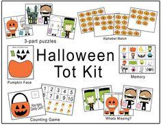 Halloween Tot Kit