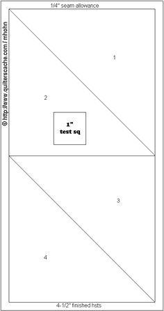 Strip of half square triangles, could be used as borders ...etc