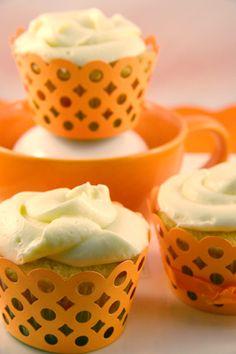 Gluten Free Orange Cream Cupcakes