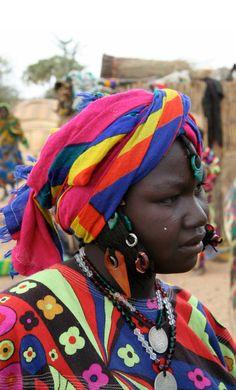 Africa | Fulani woman.  Burkina Faso | ©Tarnya Hall