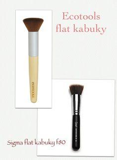 Dupes for Sigma Flat Kabuki Brush #F80 - Ecotools Buffing Brush Sigma