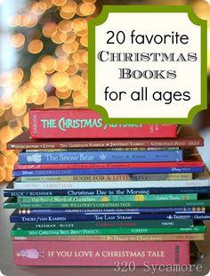 books, 20 favorit, christmas, read, christma book, favorit christma, holiday idea, book favorit, kid
